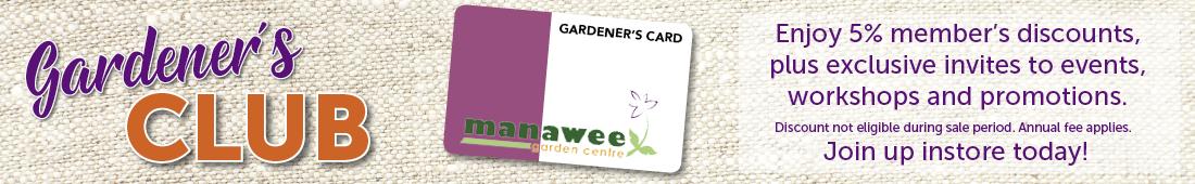 manawee gardeners club