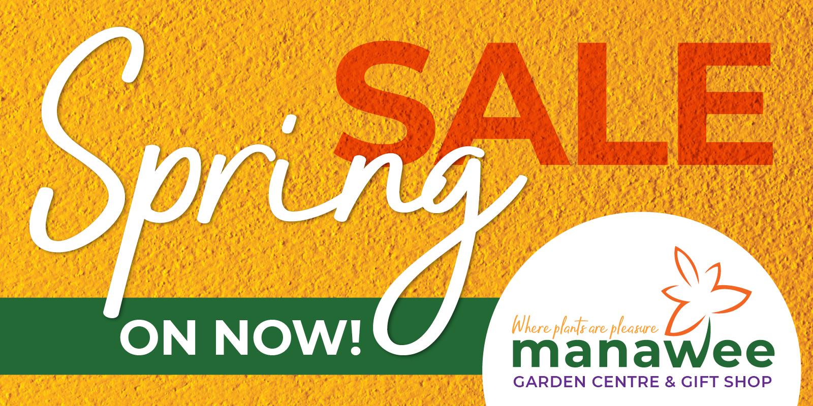 Manawee Spring Sale